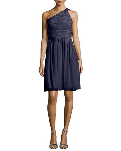 Rhea One-Shoulder Cocktail Dress