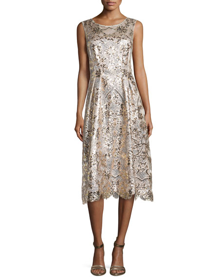 Kay Unger New York Lace, Sequin & Beaded