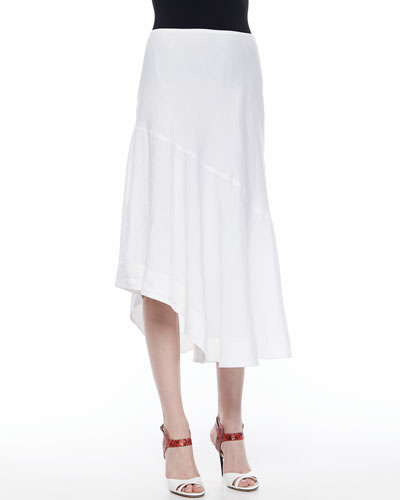 Long Engagement Skirt, White