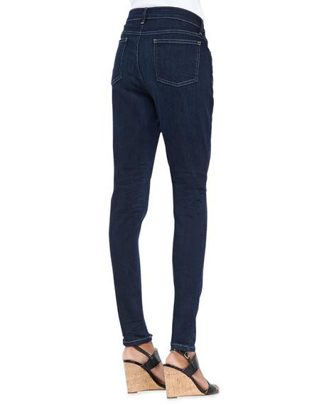 Organic Soft Stretch Skinny Jeans, Washed Indigo, Plus Size
