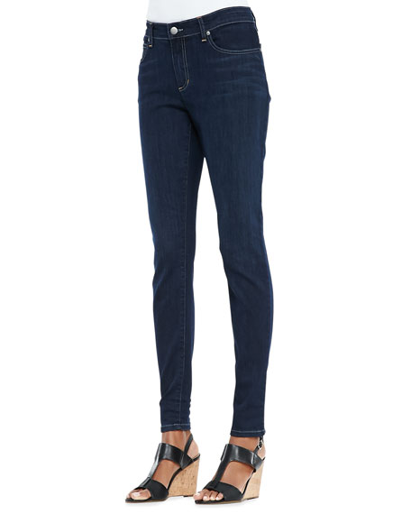 Eileen FisherOrganic Soft Stretch Skinny Jeans, Washed Indigo,