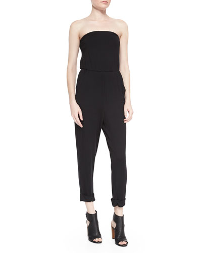 Theodore Strapless Jumpsuit, Women