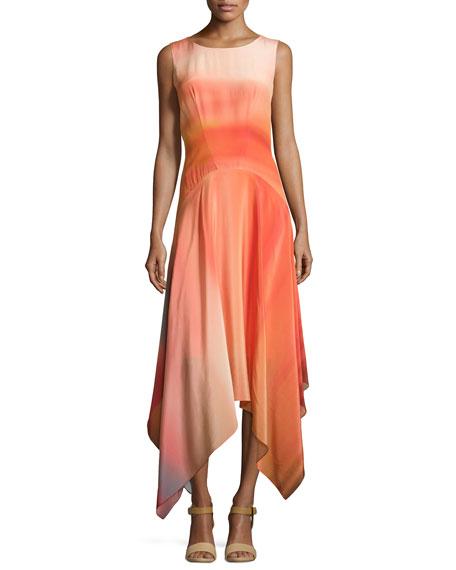 ZAC Zac Posen Sleeveless Draped Cocktail Dress