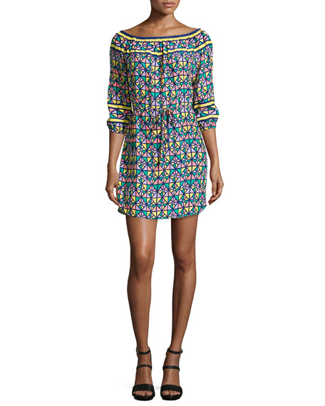 Alice & Trixie Catarina Off-the-Shoulder Dress