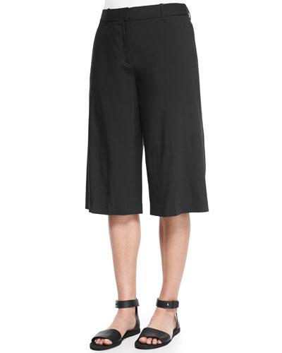 Grega Cropped Wide-Leg Pants