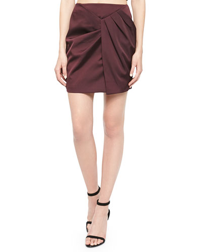 Blessed Pleated Mini Skirt