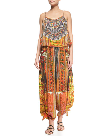 Ancient Magic Wide-Leg Jumpsuit