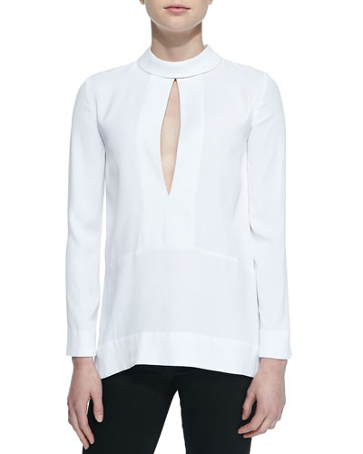 Jilly Split-Placket Top
