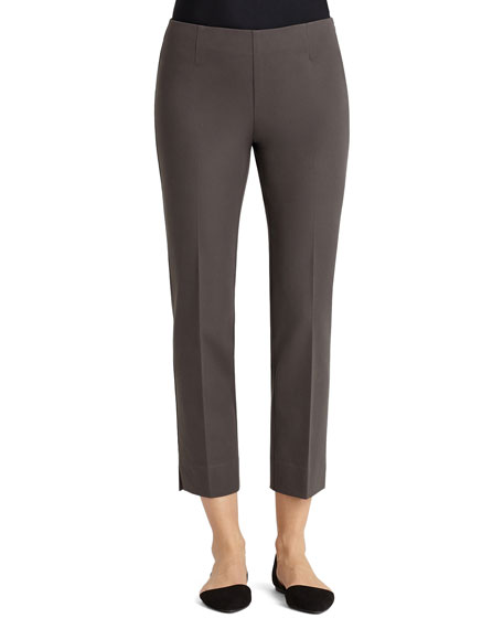 Lafayette 148 New York Bleecker Slim Cropped Pants,