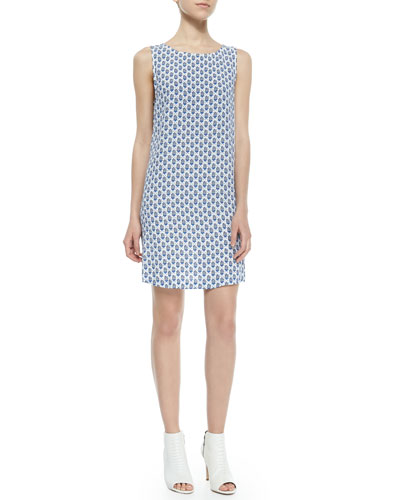 Leiston B Printed Shift Dress
