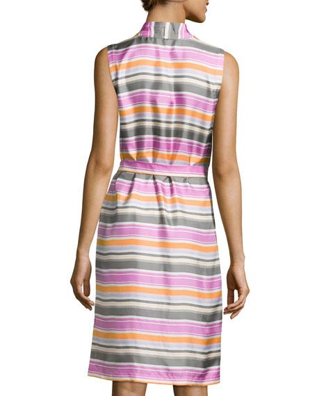 Gia Striped Shirtdress