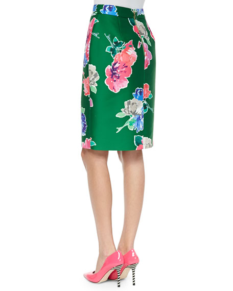blooms marit straight skirt