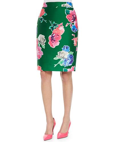 blooms marit straight skirt