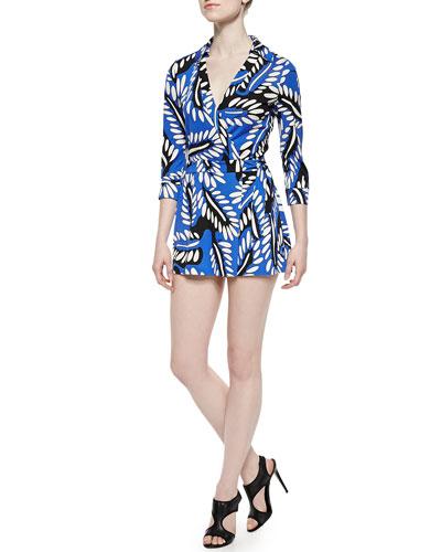 Riviera Printed Skort Jumpsuit