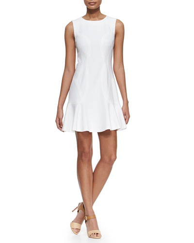 Jaelyn Sleeveless Fit-and-Flare Dress
