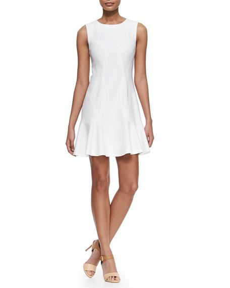 Diane von Furstenberg Jaelyn Sleeveless Fit-and-Flare Dress