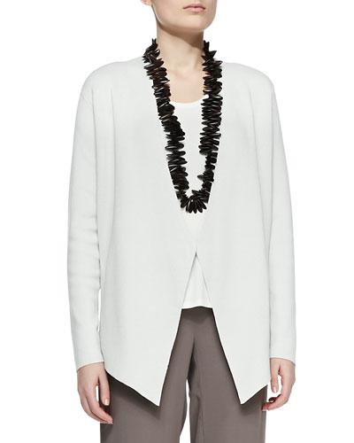 Silk-Cotton Interlock Jacket