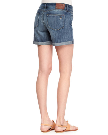 Karlie Cuffed Denim Shorts