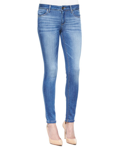Emma Faded Denim Skinny Jeans