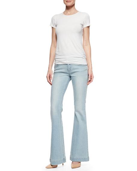 Joy High-Rise Flared Denim Jeans