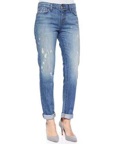 Jake Broken Distressed Boyfriend Jeans