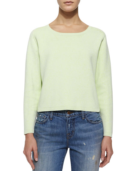 J Brand Ready to Wear Alex Long-Sleeve Stretch-Knit