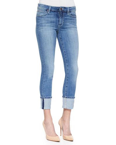 Catalina Clean Cuff Cropped Jeans