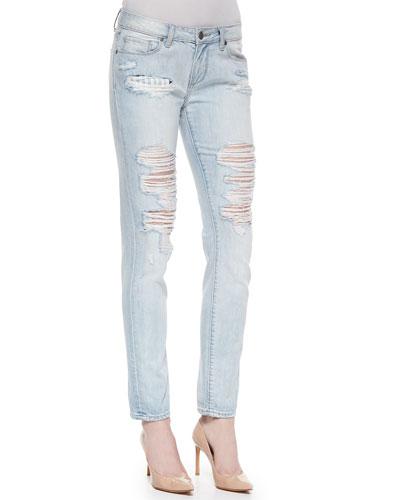 Jimmy Jimmy Distressed Skinny Jeans, Sawyer