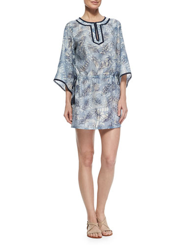 Dream Catcher Printed Caftan