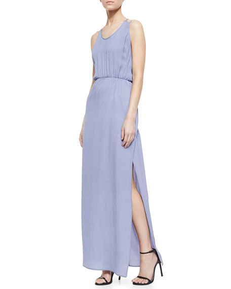 Halston Heritage Crepe Maxi Dress, Purple