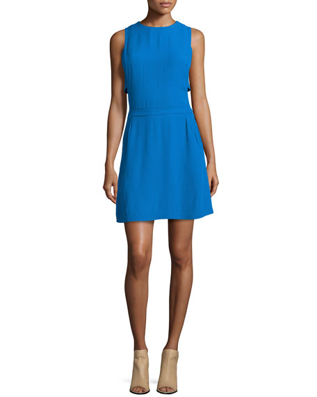A.L.C. Jones Sleeveless Crepe Dress