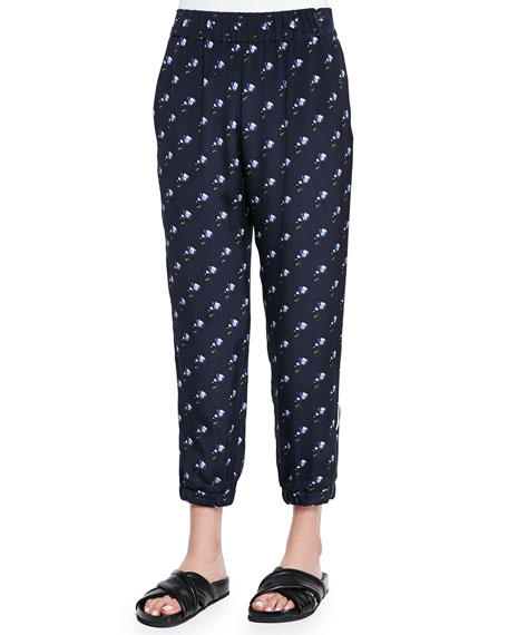 Mother of Pearl Reece Printed Tapered Pants