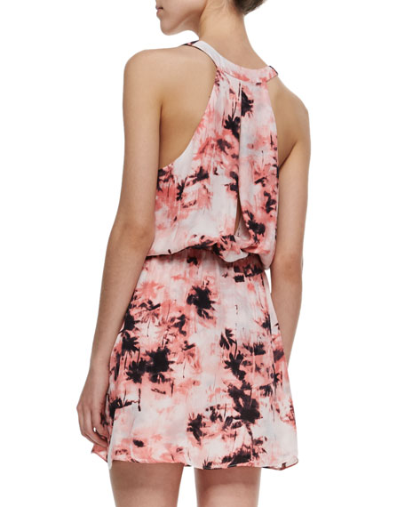 Kita Tree-Print Sleeveless Dress