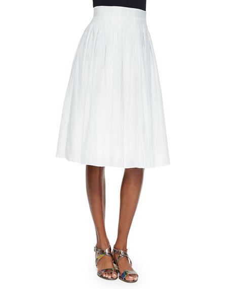 Risto Novara Pleated A-Line Skirt