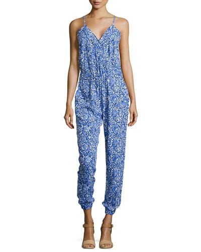 Melba Printed Jumpsuit