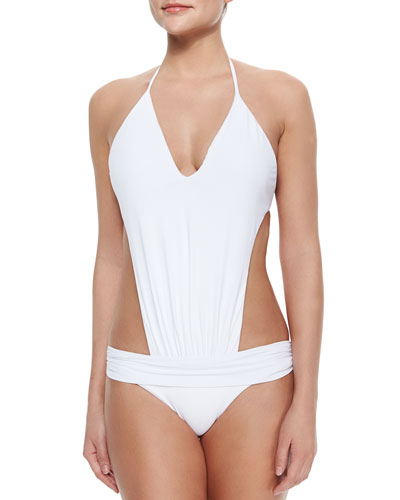 Severina Gathered Monokini