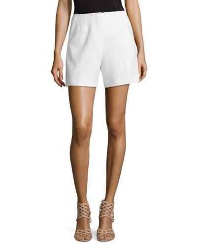 Valera Knit Shorts, White