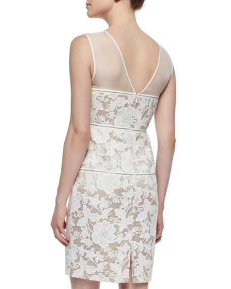 Sarah Lace Sheath Cocktail Dress