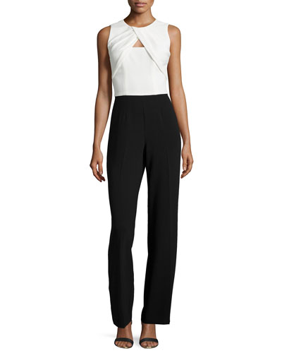 Nera Sleeveless Cutout Combo Jumpsuit