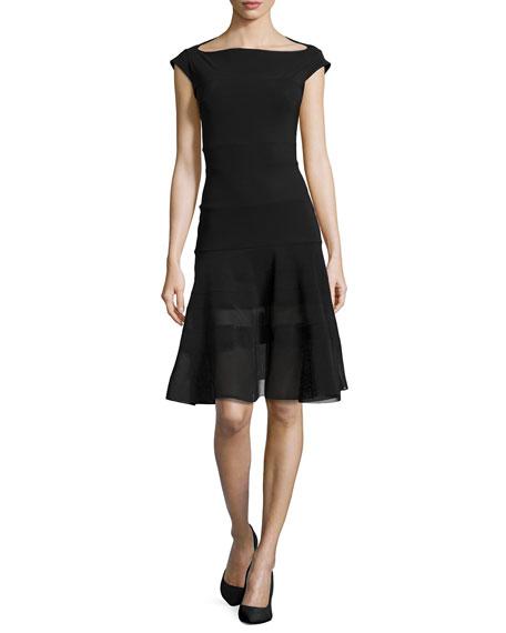 La Petite Robe di Chiara Boni Orlanda Cap-Sleeve