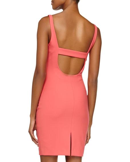 Torran Sleeveless Slim Crepe Dress
