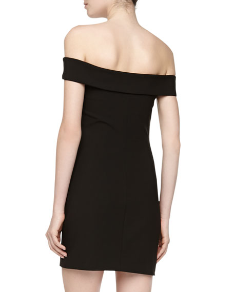 Kristell Off-The-Shoulder Fitted Dress