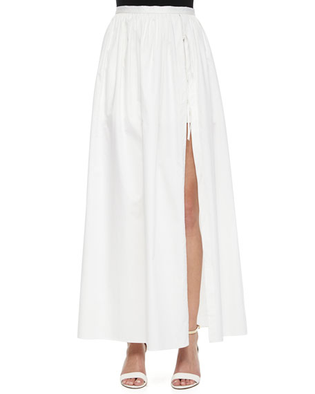 Tibi Full-Length Skirt with Shorts