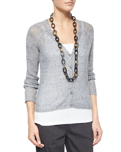 Rustic Speckle Cardigan, Women