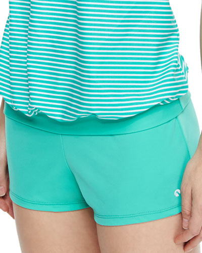 Between Lines Short Swim Shorts