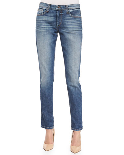 Boyfriend Slim Ankle Jeans, Mai