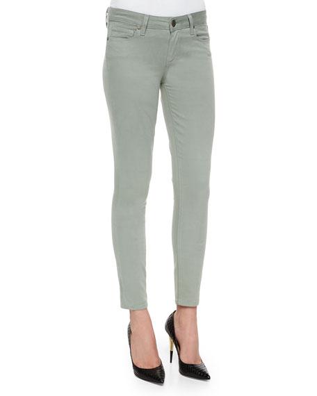 Verdugo Skinny Ankle Jeans, Sea Moss