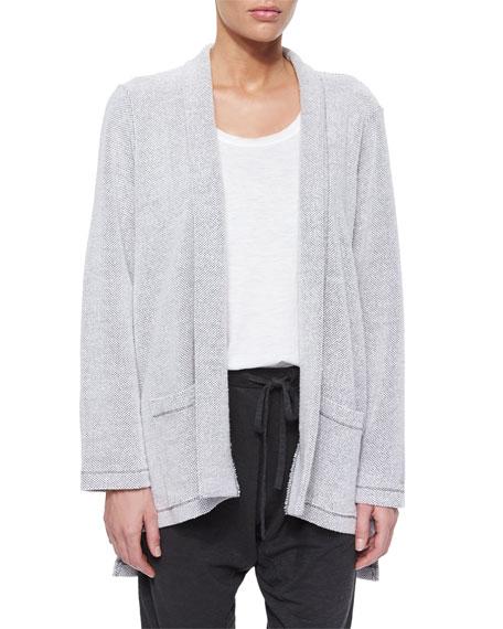 Soft-Spun Kimono Cardigan, Dark Pearl, Women's