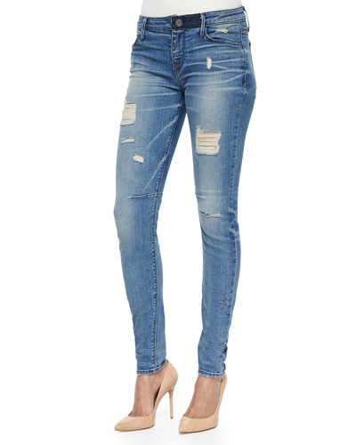 Icon Distressed Skinny Jeans, Man Crush