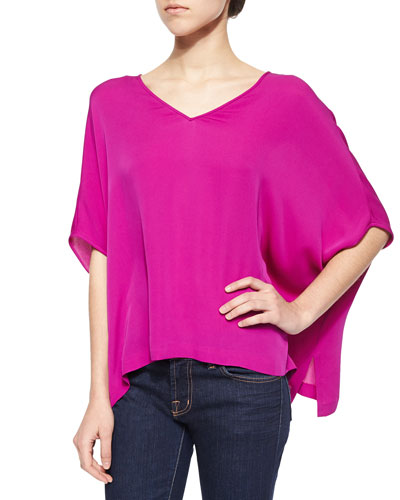 Adria V-Neck Loose Blouse